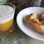 アーシュ ターブル - ☆マンゴーゼリーとムース(小)と フレンチトースト