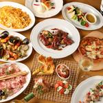 Italian Dining NATURA - 料理写真:季節ごとに替わるパスタや前菜、名物パイッツァも勢揃い!
