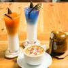 Living Cafe シャンティ - ドリンク写真:映えたドリンク(チャイ、タイ、青、ラテアート)