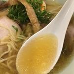 中華そば 和渦 TOKYO - 塩スープ