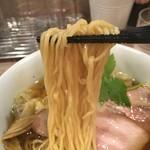 中華そば 和渦 TOKYO - 麺