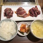 俺の焼肉 - 特選上焼肉定食@1,500円
