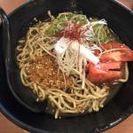 極楽湯 - 黒ゴマ冷し坦々麺830円