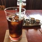 まつもと食堂 - ランチ+100 アイスコーヒー