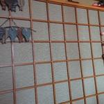 きむら - 店内壁