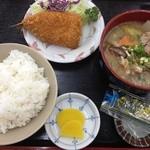 定食屋 大盛亭 - 日替わり定食(通常650円/小盛りなので30円引き)