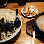 つけ麺亭 日向 - 麺500㌘&つけ汁、トッピング