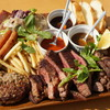 Cafe Lychee - 料理写真:肉盛りプレート要予約