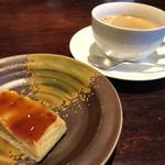 キッチンアンドカフェ ガヤ - ランチのデザートとコーヒー