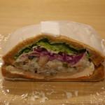 松風SAND&BAR - チキンと根菜サラダ
