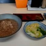 ねぼけ食堂 - 茶がゆの満腹セット
