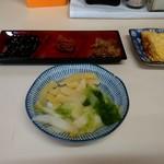 ねぼけ食堂 - 茶がゆの満腹セットの漬物