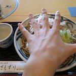 さえずり - 皿が手のひらくらいあります!  大きい!