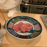 割烹 一楓 - ほどよいサシの牛肉