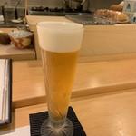 割烹 一楓 - 生ビール