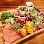 プチレストラン カナモリ - 本日の前菜の盛り合わせ 1280円〜