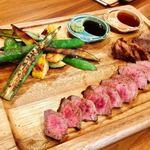 プチレストラン カナモリ - 熊本産和牛赤牛イチボ 2980円