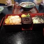 藤屋 - 料理写真:かつ丼セット