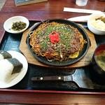 てっぱん焼き おこのみ焼 テンテン - 料理写真:
