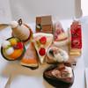 サクライ 洋菓子店 - 料理写真:たくさんのケーキ♡ 綺麗な断面が撮れなかった(//∇//)