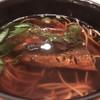 明月庵 ぎんざ 田中屋 - 料理写真:にしん蕎麦  にしんがとても美味しく炊かれてます♬