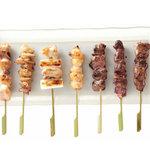とりでん - 串焼きはすべて国産の鶏肉を使用しており、遠赤外線で焼くので素材本来の味をお楽しみ頂けます。