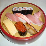 辰巳庵 - 料理写真:にぎり寿司 上 (仕入れによってかわることがあります)  1470円