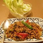 ワンタイ - 挽き肉のレタス包み