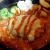 デコ カフェ ビー - 料理写真:チーズハンバーグ♪