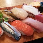 宝寿司 - にぎり10貫