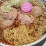 113602317 - ラーメン(醤油)麺アップ