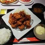 とんきち - ◆からあげマウンテン(つけマヨ)◆★ご飯大盛り無料★899円♪