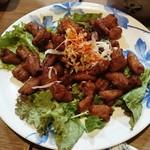うみブタ - 豚のホルモン唐揚げ