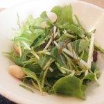 古道具 カフェホゾ - サラダ(カレーセット)