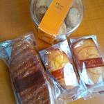 ナチュール シロモト - 3種類の焼菓子を頂きました^^