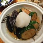 石狩川 - 夏野菜の揚げ浸し