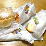 ブヴロンのパン小屋 - 購入したパン類