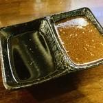 炭火焼肉 出会いのかけら - 2種類のタレ