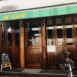 JKカフェ - 外観 少しアップで