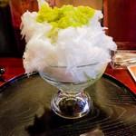 四代目大野屋氷室 - ずんだかき氷