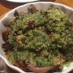 和献洋菜Hi-Bi - ウナギの肝ガーリックバター焼き