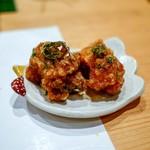 鳥匠 いし井 - ☆熊野地鶏の唐揚げ