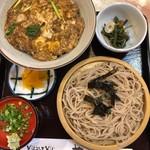 やぶ - 料理写真:ざるそば定食950円税込