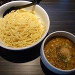 とも狼 - つけ麺+味玉