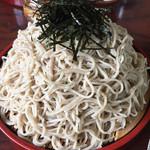 寿々喜 - 料理写真:大ざるそばです 期待したほど多くないな