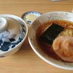 寿苑 - 料理写真:ラーメンライス450円ネギ抜き