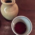 三城 - この辛汁香りが素晴らしい! かえしもしっかり効いていて強い味わいです 好みです