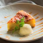 個室 肉炉端居酒屋 九州うまか屋 - 料理写真:スイートポテトケーキ