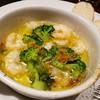 コバラヘッタ - 料理写真:海老とブロッコリーのアヒージョ