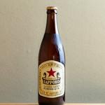 個室 肉炉端居酒屋 九州うまか屋 - サッポロ ラガー 赤星